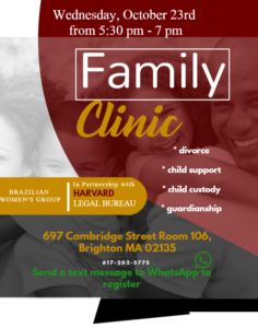 Family Clinic - October 23